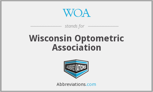 WOA - Wisconsin Optometric Association