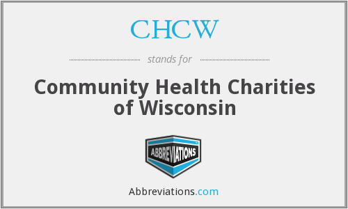 CHCW - Community Health Charities of Wisconsin