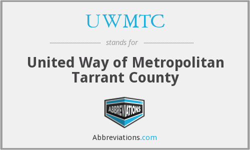 UWMTC - United Way of Metropolitan Tarrant County