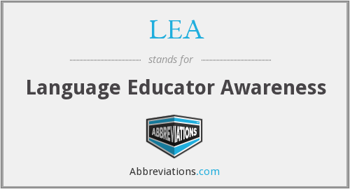 LEA - Language Educator Awareness