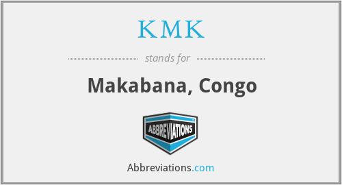 KMK - Makabana, Congo