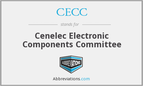 CECC - Cenelec Electronic Components Committee