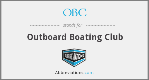 OBC - Outboard Boating Club