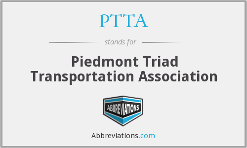 PTTA - Piedmont Triad Transportation Association