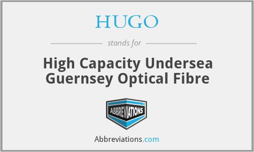 HUGO - High Capacity Undersea Guernsey Optical Fibre