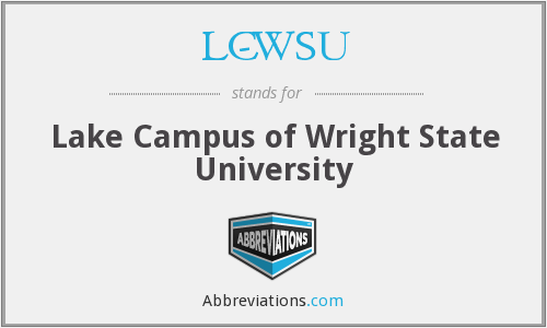 What does LC-WSU stand for?