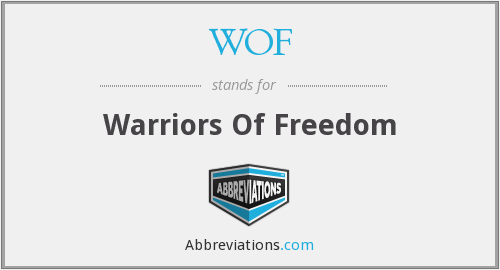 WOF - Warriors Of Freedom