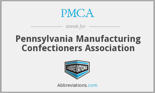 PMCA - Pennsylvania Manufacturing Confectioners Association