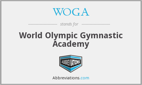 WOGA - World Olympic Gymnastic Academy