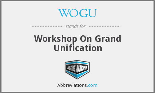 What does WOGU stand for?
