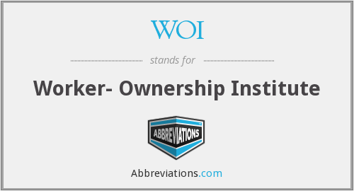 WOI - Worker- Ownership Institute