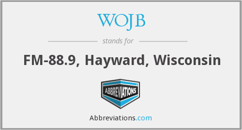What does WOJB stand for?