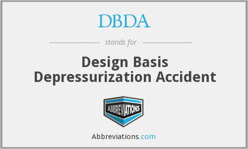 DBDA - Design Basis Depressurization Accident