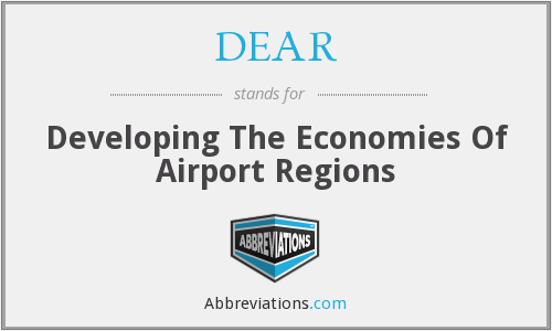 DEAR - Developing The Economies Of Airport Regions