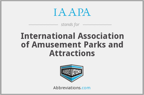 IAAPA - The International Association Of Amusement Parks And Attractions