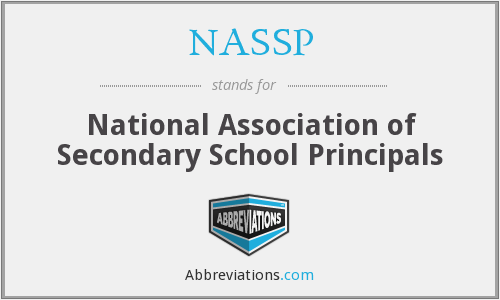 NASSP - National Association of Secondary School Principals