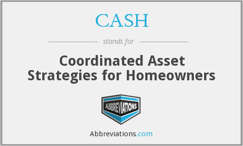 CASH - Coordinated Asset Strategies for Homeowners