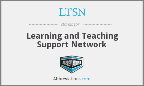 What does LTSN stand for?