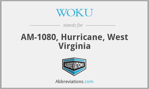 WOKU - AM-1080, Hurricane, West Virginia