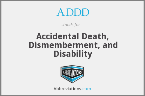 What does ADDD stand for?