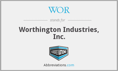 WOR - Worthington Industries, Inc.