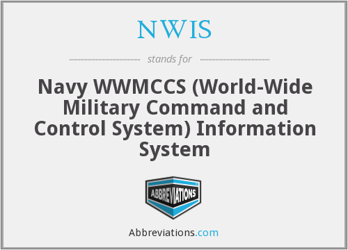 What does NWIS stand for?