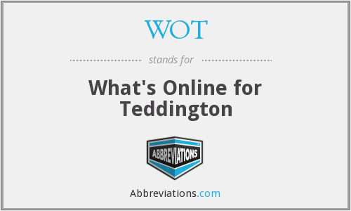 WOT - What's Online for Teddington