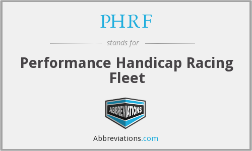 What does PHRF stand for?