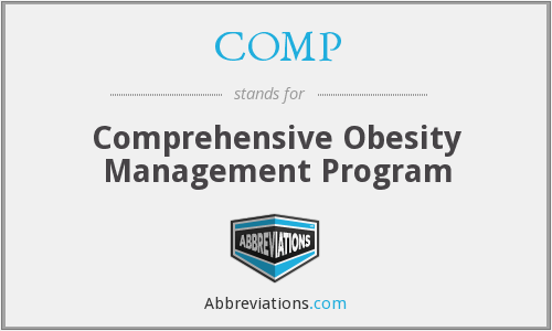COMP - Comprehensive Obesity Management Program