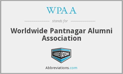 What does WPAA stand for?