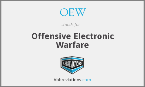 OEW - Offensive Electronic Warfare