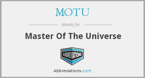 MOTU - Master Of The Universe