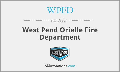 WPFD - West Pend Orielle Fire Department