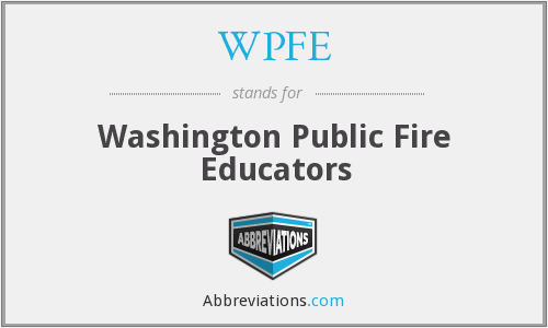 What does WPFE stand for?