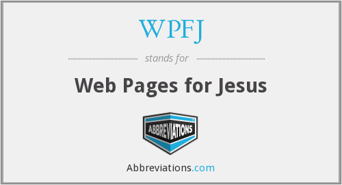 What does WPFJ stand for?