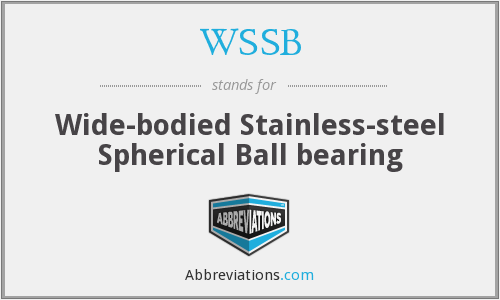 WSSB - Wide-bodied Stainless-steel Spherical Ball bearing