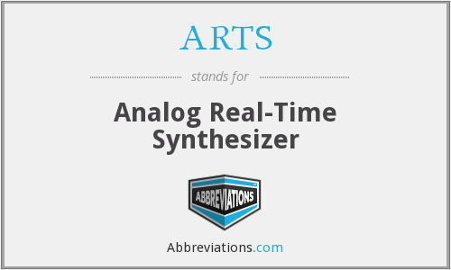 ARTS - Analog Real-Time Synthesizer