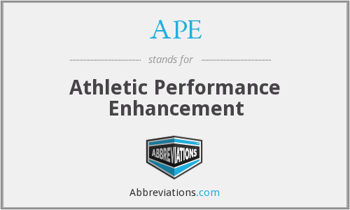 APE - Athletic Performance Enhancement