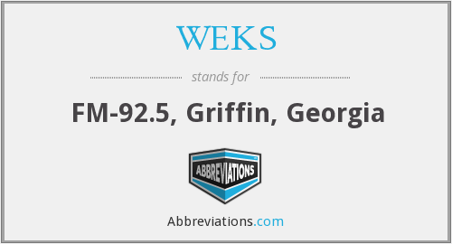 WEKS - FM-92.5, Griffin, Georgia