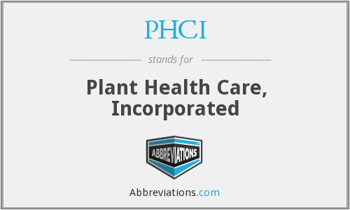 What does PHCI stand for?