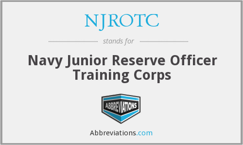 NJROTC - Navy Junior Reserve Officer Training Corps