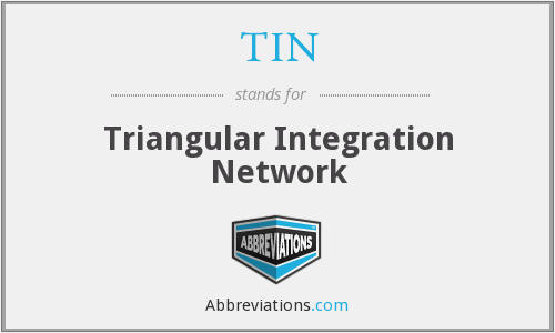 TIN - Triangular Integration Network