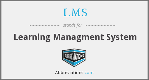 LMS - Learning Managment System