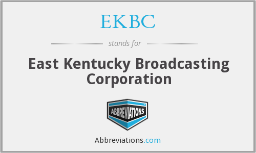 What does EKBC stand for?