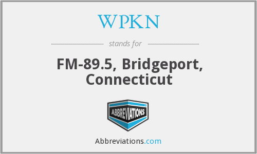 WPKN - FM-89.5, Bridgeport, Connecticut