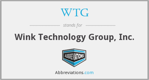 WTG - Wink Technology Group, Inc.