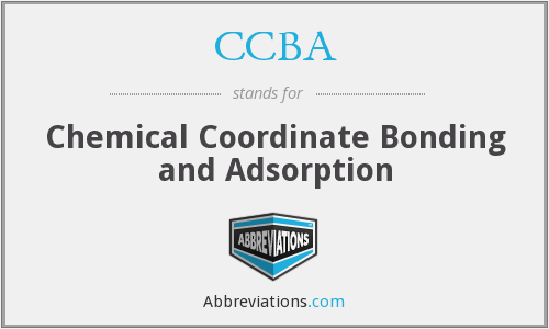 What does CCBA stand for?