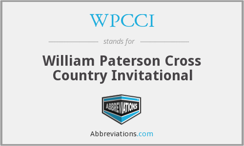 WPCCI - William Paterson Cross Country Invitational