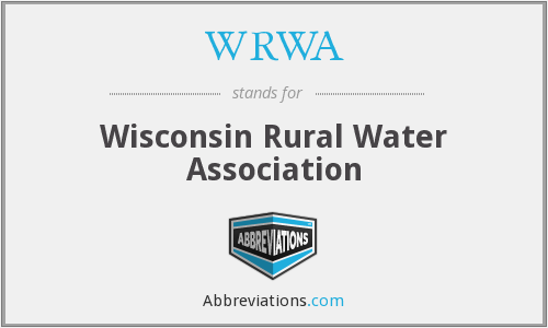 What does WRWA stand for?