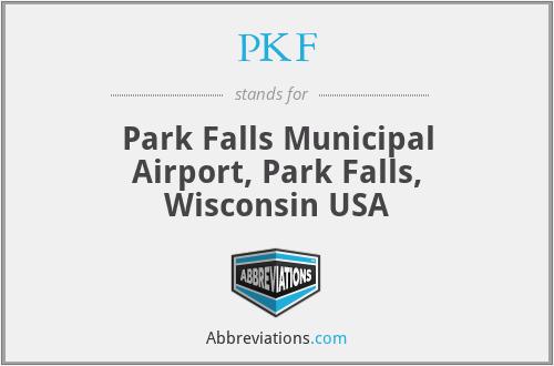 PKF - Park Falls Municipal Airport, Park Falls, Wisconsin USA